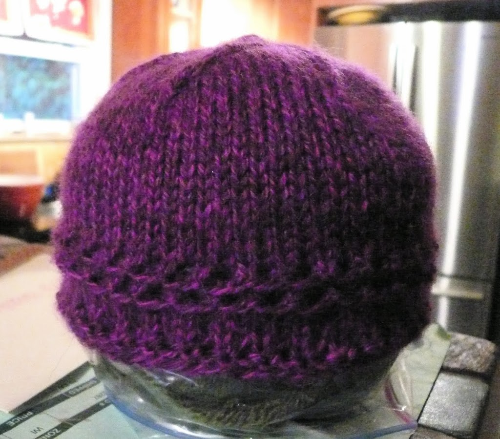 Quick and Easy Baby Hat (Now in the Round!)