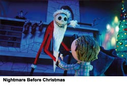Nightmare before Christmas as metaphor