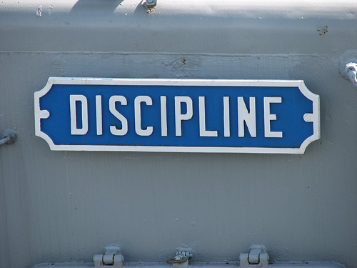 Discipline: Forming Good Habits