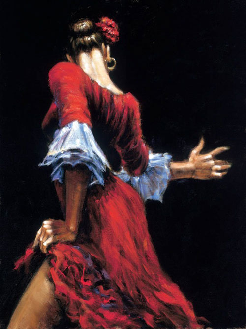 Fabulous Friday – Flamenco Dancer
