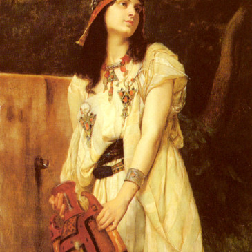 Fabulous Friday – Woman With An Urn