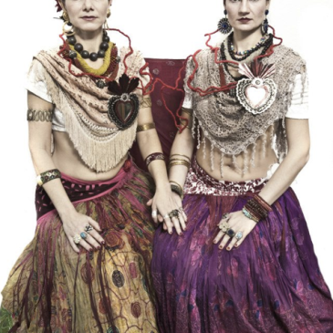 Fabulous Friday – The Two Fridas, Tribal Style