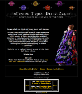 2003-2007 inFusion Tribal Website