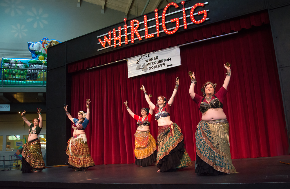 Deep Roots Dance Performs at World Rhythm Festival