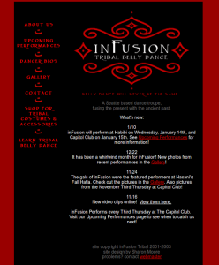 2003 inFusion Tribal Website