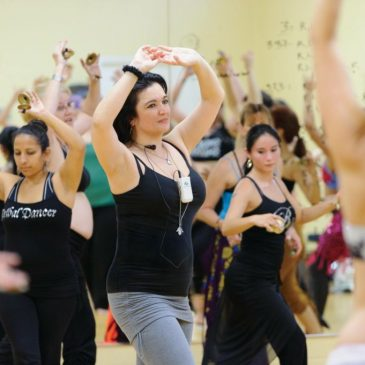 Popping & Locking in Modern Bellydance