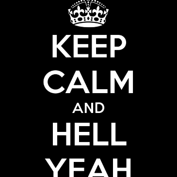 HELL YEAH!!