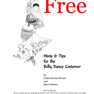 Free Costuming Hints and Tips Booklet